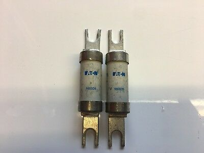100SD5 Off Set Bolted Tag BS88 Fuse 100 Amp Eaton X2