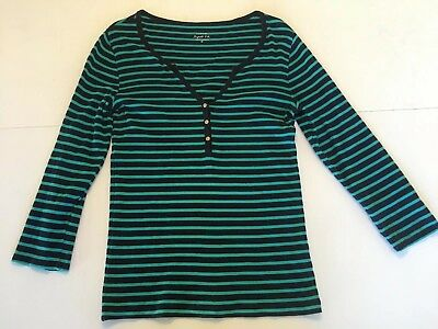 9228584380680 J CREW PERFECT Fit Striped Cardigan Yellow and White Sz small ...