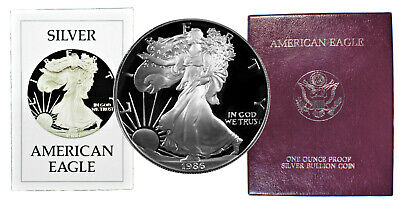 1986 Gem Proof American Silver Eagle