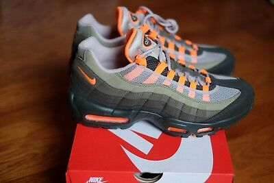 finest selection 9a9ac b56a0 NIKE AIR MAX 95 OG String Orange AT2865 200 New size 7 wmns 8.5 greedy AM  Neon