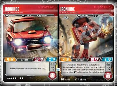 Transformers Rise of the Combiners ** 1x Ironhide // Steadfast Brawler ** NM-Min