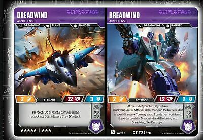 Transformers Rise of the Combiners ** 1x Dreadwind // Air Defense ** NM-Mint