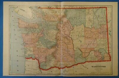 24x32 1908 Fitzgerald Georgia Vintage Old Panoramic City Map