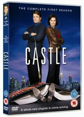 Castle: The Complete First Season (DVD 3 DISC BOX SET) *NEW/SEALED* FREE P&P