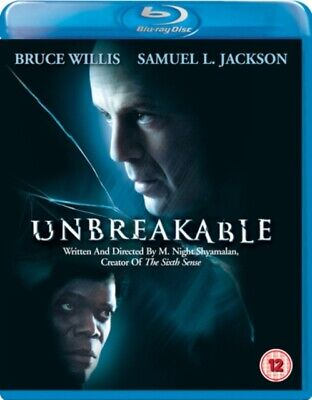 Unbreakable (BLU-RAY, 2000) *NEW/SEALED* 8717418166311, FREE P&P
