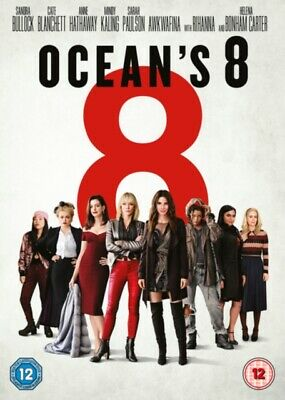 Ocean's 8 [(DVD, 2018) *NEW/SEALED* 5051892211949, FREE P&P