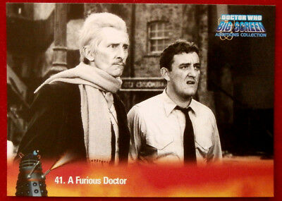Dr Doctor Who Big Screen Additions Auto Autograph Card A1 John Brown as Antodus