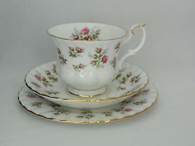 Royal Albert **WINSOME** Pink Roses - Trio - Cup / Saucer/Side plate - Excellent