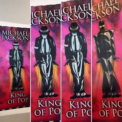 👑 Michael Jackson Iron-Man This Is It Lenticular Concert Tickets $14.95 Each!