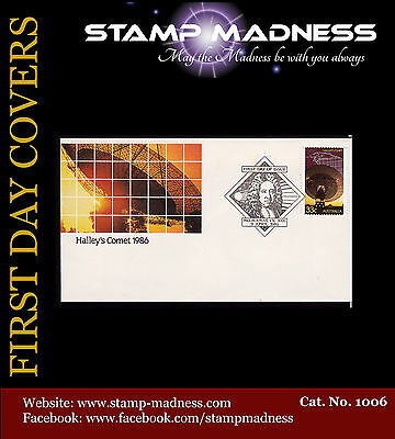 AUSTRALIA FIRST DAY COVERS Haley's Comet 1986 Bulk Estate Buy