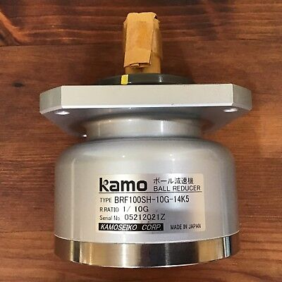 Kamoseiko Ball Reducer BRF100SH-10G-14K5, Ratio: 1/10 G. Japan
