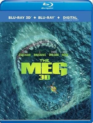 The Meg (3D Blu-ray + Blu-ray + Digital Combo Pack)