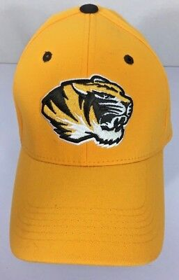 best cheap 310ec 2c9b3 TOW Licensed NCAA Mizzou Tigers Missouri Baseball Cap Hat Stretch Os Adult