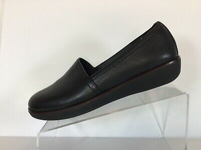 """f2c2d13a8 FitFlop Womens """"Casa"""" Wedge SlipOns Slippers Casual Shoes Ladies Size 10 EUC"""