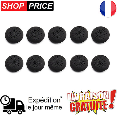 LOT 10 protections silicone pour joystick manette PS4 / PS3 / XBOX360 (NEUF)
