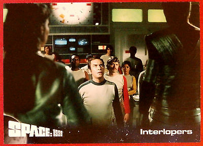 SPACE 1999 - Card #11 - Interlopers - Unstoppable Cards Ltd 2015
