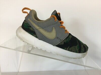 huge selection of 15d3f bbbf2 Nike Roshe Run Print Infant Toddler Camo Casual Shoes Baby Size 10C
