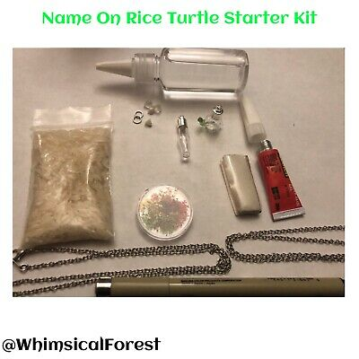 Name On Rice Turtle Starter Kit Vials Oil Pen Components DIY