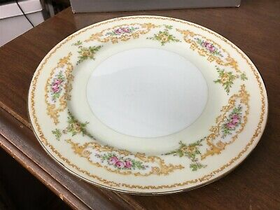 "Holly China Melody Narumi Occupied Japan 10"" Dinner Plate"