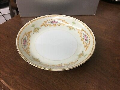 "Holly China Melody Narumi Occupied Japan 7-3/4"" Coupe Soup Bowl"