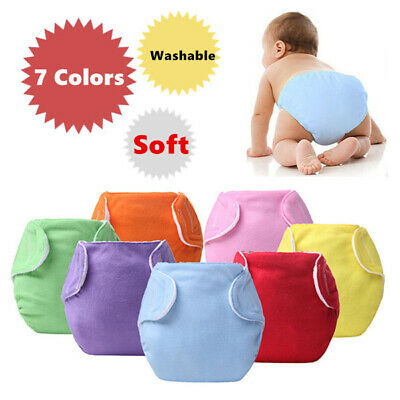 Baby Diapers Adjustable Reusable Washable Children Cloth Diaper Kids Nappies