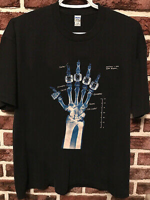 rare vtg Kobe Bryant champ Rings Dri Fit X-Ray Hand,,reprint tshirt us sz s-5xl|