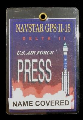 US AIR FORCE USAF Delta II Launch Vehicle NAVSTAR GPS DD 8X12 PHOTOGRAPH