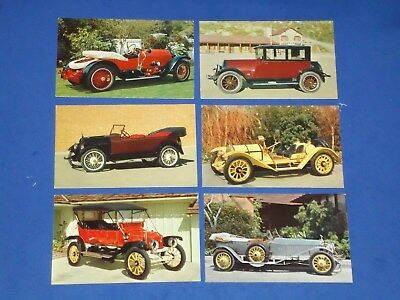 Vintage Pennzoil Z-7 Motor Oil Advertising Automobile Postcards (Set of 28)