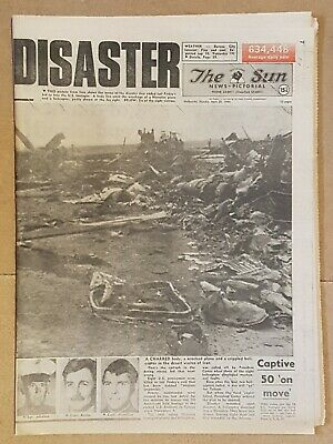 The SUN April 28th.1980 Iran hostage drama nice full clean paper in VGC