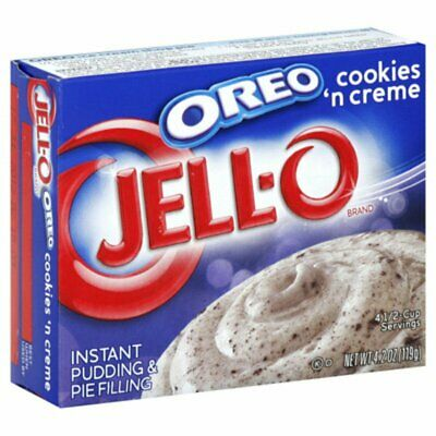 Jello Oreo Cookies 'n Creme Instant Pudding Mix 119g