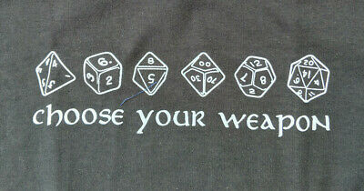 e7f0ce11 DUNGEONS AND DRAGONS Dice Tee Shirt!