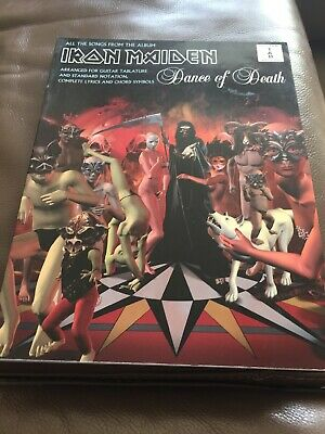 Iron Maiden Dance Of Death Tab Book