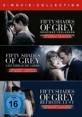 Fifty Shades of Grey - 3-Movie Collection - 3 DVD NEU OVP