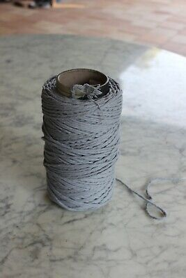 Macrame cotton 3mm dove grey colour approx 120m