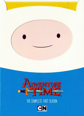 Adventure Time: The Complete First Season (Season 1) (2 Disc) DVD NEW