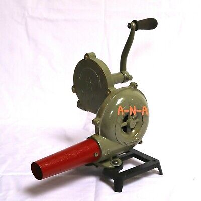 Forge Furnace Blacksmith Vintage Style With Hand Blower Antique