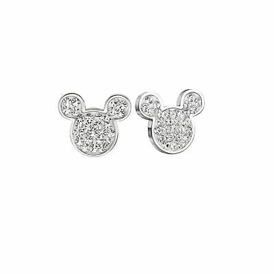 Disney Official Mickey Mouse Sparkling Earrings Pandents Jewelry Women & Girls