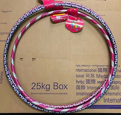 Multi color Glitter Hula Hoop Fitness Exercise Game Workout Hoola hoops Activity