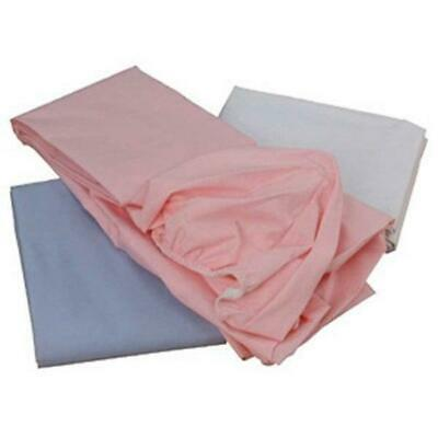 2 x Super Soft Cot 100% Cotton Jersey Fitted Sheet. Size 120cm x 60cm
