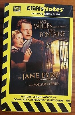 BRAND NEW Jane Eyre DVD Cliffs Notes version Orson Welles Joan Fontaine