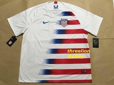 cheap for discount 92cfc d1c44 BNWT NIKE 2018 UNITED STATES USA USMNT Home Soccer Jersey Football Shirt  Trikot