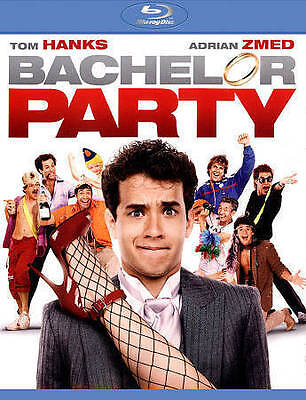 New! Bachelor Party on Blu-Ray - Tom Hanks Tawny Kitaen 80s Classic Comedy