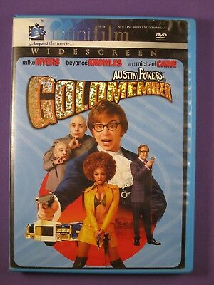 Austin Powers in Goldmember (DVD) Widescreen - Mike Meyers, Beyonce Knowles...