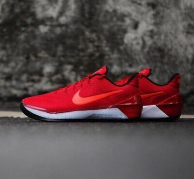 15e8acd3d452 Nike Kobe A.D. XII University Red Crimson Black Bred 852425-608 Bryant AD  Gym 12