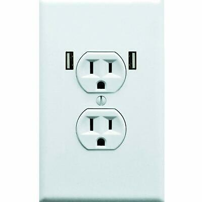 Fake Electrical Outlet and USB Wall Plate Sticker 10 Pack Quirky Prank to Fool