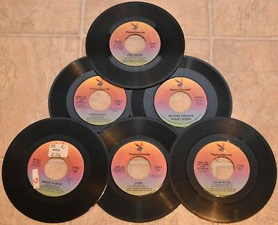 45 RPM Records - 15 Vinyl Singles Lot - Playboy Records, Inc. Hamilton Joe Frank