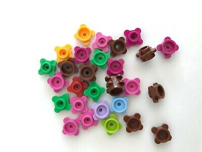 LEGO NEW 1x1 Lavender Plate Round Flower with Tabs 6170305 Brick 33291 10x