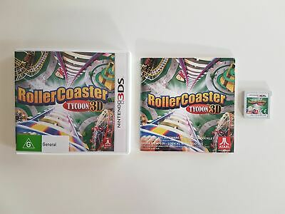 Rollercoaster Tycoon 3D 3DS Game