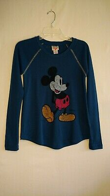 24861045584a3 JUNK FOOD DISNEY MICKEY MOUSE Womens S Longsleeve Top NWOT -  22.50 ...