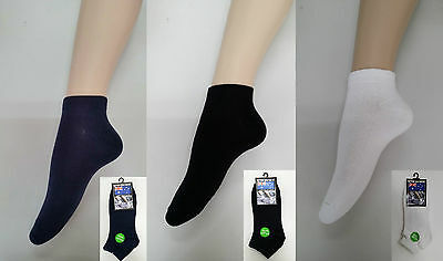 2prs or 12 prs Size 3-9 Thin Ladies Cotton Ankle Sport Socks Low Cut Socks
